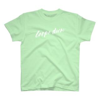 Carpe diem -white- T-shirts