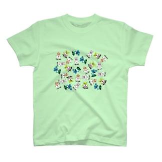 hikaliyanoの昭和グループ T-shirts