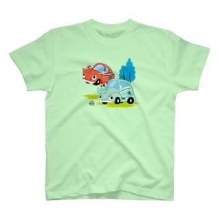 カブトムシカー T-shirts