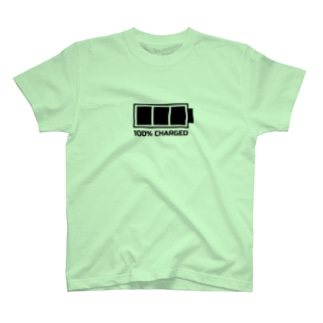 Battery of kids(black) T-shirts