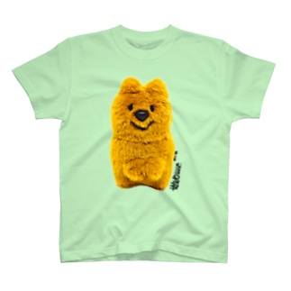クオッカちゃんTシャツ(ムートンきつね色ちゃん) T-shirts