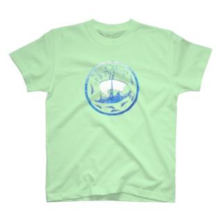 うみぶどう 海色 T-shirts