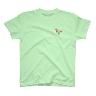 遊具〈ウマ?〉 T-shirts