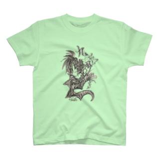 feles=xenociel Tシャツ。 T-shirts