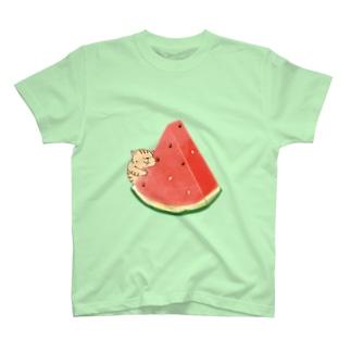 スイカとメタボニマルズ T-Shirt