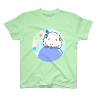 風船モルモット10 T-shirts