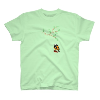 ジョビ男とウメモドキ T-shirts