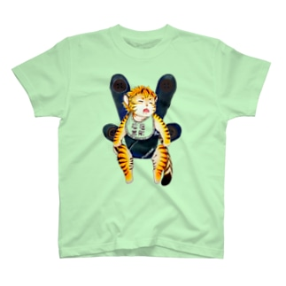 ワータイガーベビー(フルカラー) T-shirts