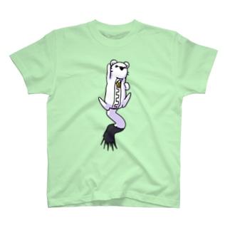 【チャックま】ジャンプ!オコジョッパー T-shirts
