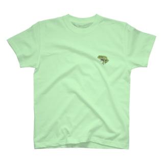 mendakoshopのネコメガエル T-shirts