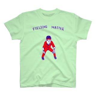 球春到来!野球Tシャツ「守備職人」 T-shirts