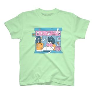 タバコ屋ちゃん T-shirts