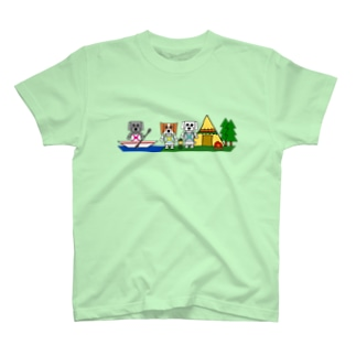 シカクイイヌ メイニコルー T-shirts