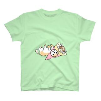クレープ犬 T-shirts