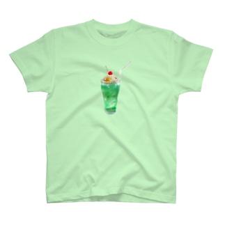 栗ご飯(クリームソーダ) T-shirts