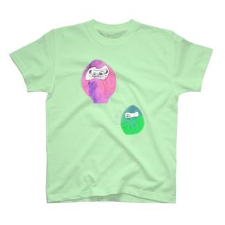 だるまさんズ T-shirts
