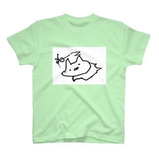 ぎざぎざねこちゃん T-shirts