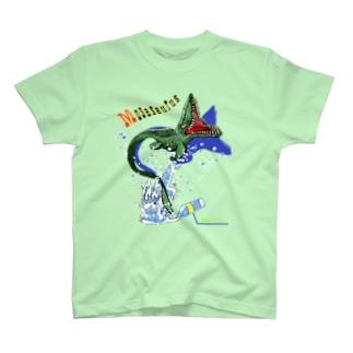モササウルス入ってます T-Shirt