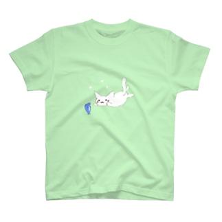 魚とにゃん T-shirts