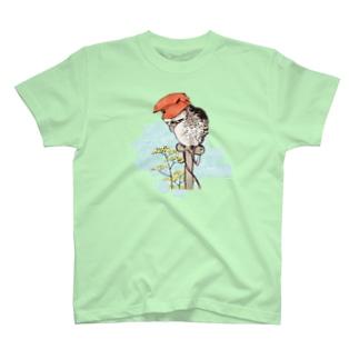 山鴞〜ふくろう〜 T-shirts