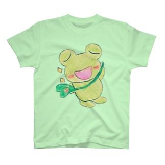 キリリとあめかえる T-shirts