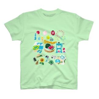 ドットSummer no.2 T-shirts