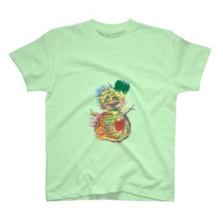 夏の雪ダルマ2体目 T-shirts