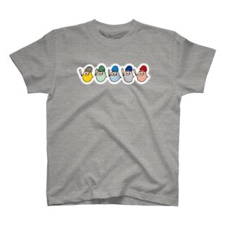 やるきない野球(いろいろ) Tシャツ