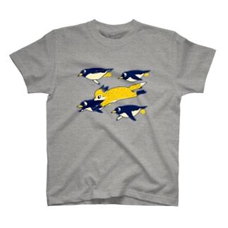 連れてって Tシャツ