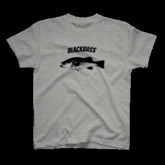 釣活の外来魚 Tシャツ