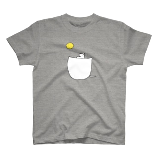 ポケットから月 Tシャツ