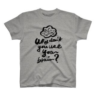 brain Tシャツ