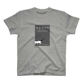 taking a walk with nyaco 3 Tシャツ