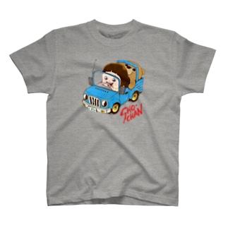 しょーちゃん じどうしゃ Tシャツ
