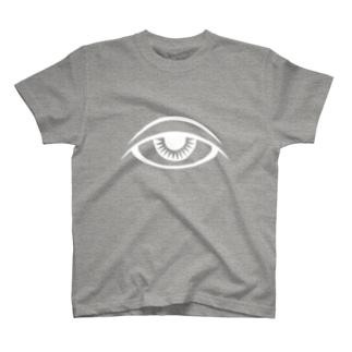 瞳と魔法 Tシャツ