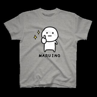 mame&coのまるいのTシャツTシャツ