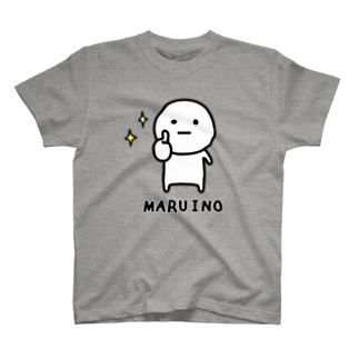 mame&coのまるいのTシャツ Tシャツ