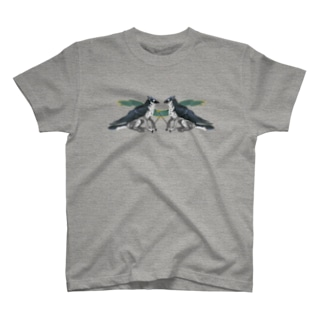 グリフォンブルー Tシャツ