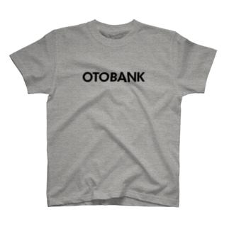 OTOBANKのグッズ@black Tシャツ
