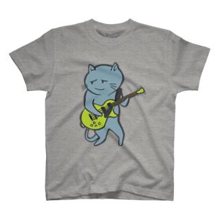 necoguitar-color Tシャツ