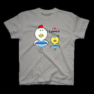 さきとものI♡SUMMER Tシャツ