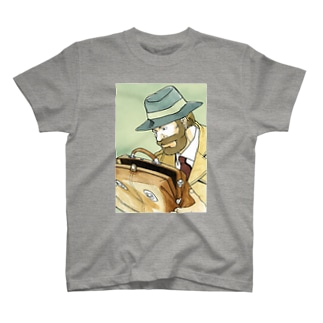 鞄図書館 Tシャツ