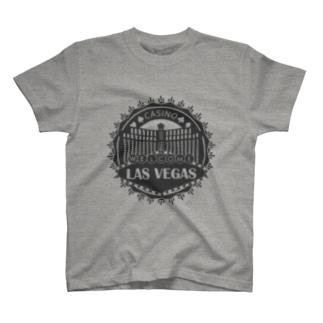 Las Vegas (グレー) Tシャツ