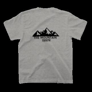 THE MOUNTAIN  1997RのTHE MOUNTAIN 1997R T-shirtsの裏面