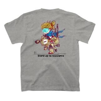 土器T バックプリント (カラー) T-shirts