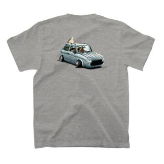 Slammed cars⑦ T-shirts