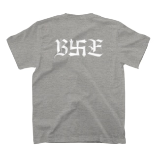 B卍Eデザイン 白 T-shirts