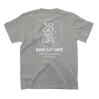6周年記念アイテム「NC,NL.」Backprint/WhiteLine T-shirts