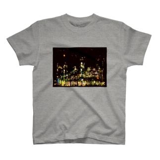 工場moe!(火花) T-shirts
