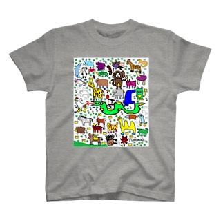 yunimal's ZOO T-shirts